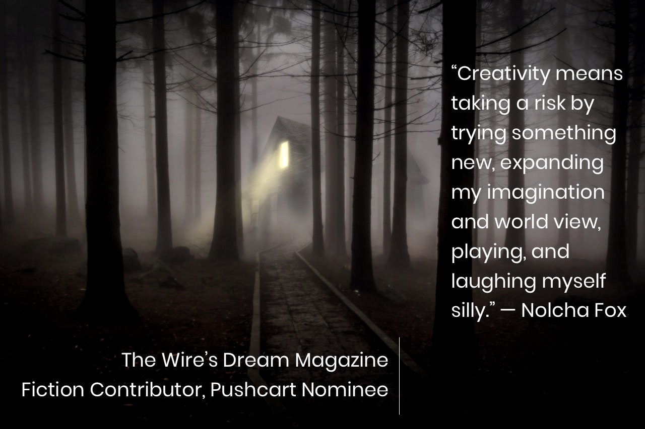 TWD Magazine 3rd Collection Interview: Nolcha Fox — Fiction Contributor, Pushcart Nominee