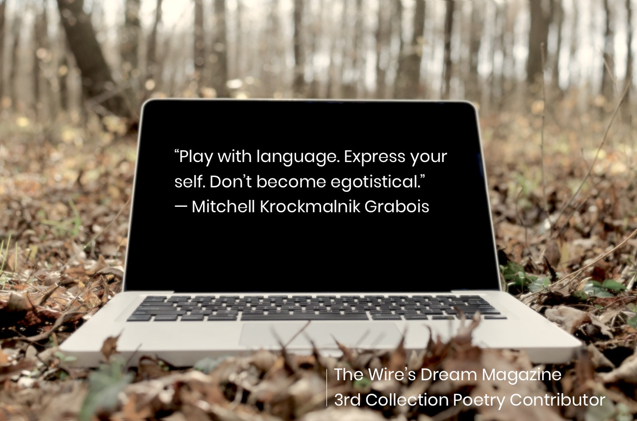 TWD Magazine 3rd Collection Interview: Mitchell Krockmalnik Grabois — Poetry Contributor