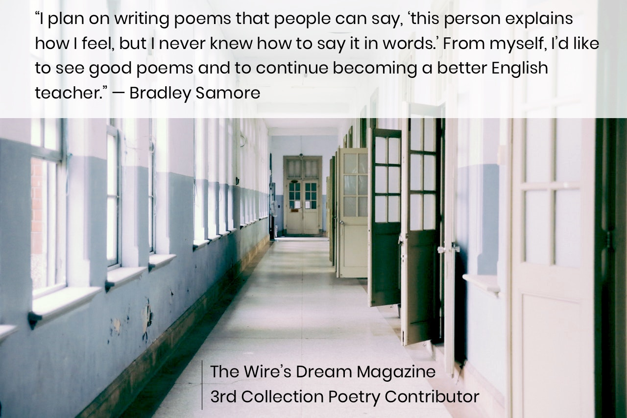 TWD Magazine 3rd Collection Interview: Bradley Samore — Poetry Contributor