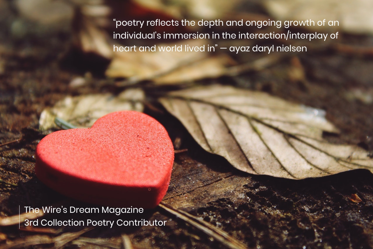 TWD Magazine 3rd Collection Interview: ayaz daryl nielsen — Poetry Contributor