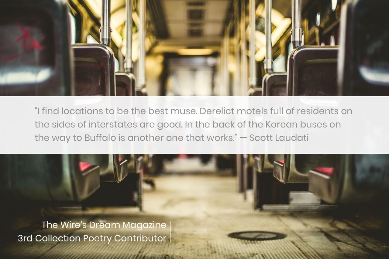 TWD Magazine 3rd Collection Interview: Scott Laudati — Poetry Contributor