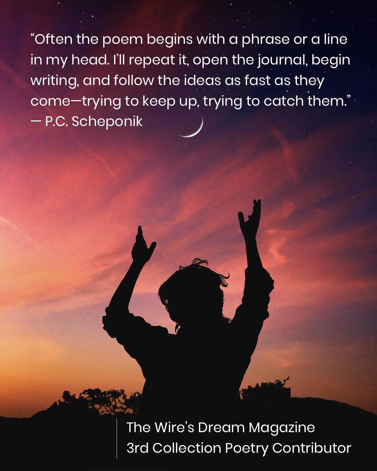 TWD Magazine 3rd Collection Interview: P.C. Scheponik — Poetry Contributor