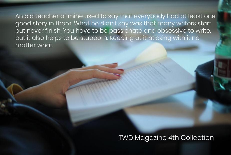 TWD Magazine 4th Collection Interview: M.E. Proctor — Fiction Contributor